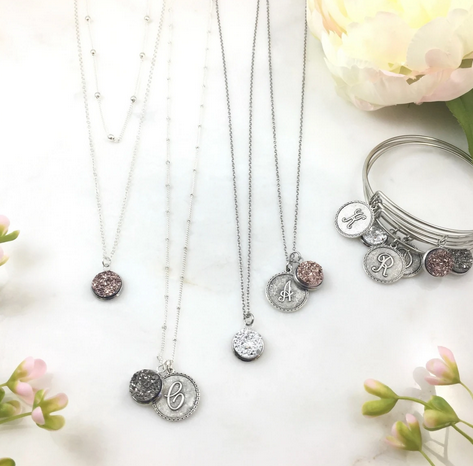 Druzy Collection Necklaces and Bracelets