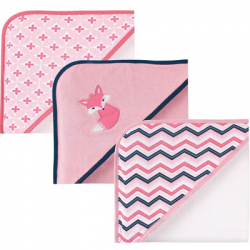 Luvable Friends 3 Piece Hooded Towels