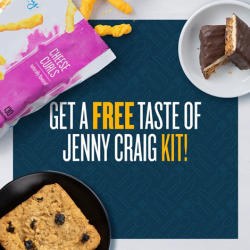 FREE Taste of Jenny Craig Snack Kit