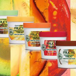 FREE Sample of Garnier Fructis Treats Hair Mask