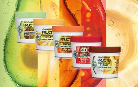 FREE Sample of Garnier Fructis Treats Hair Mask