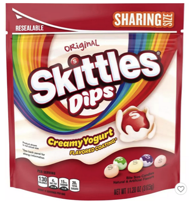 New Skittles Dips Candy Coupons