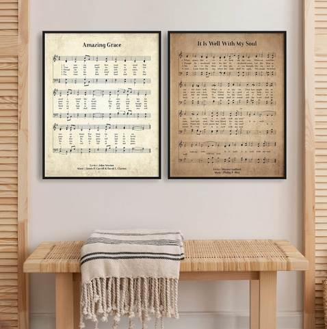 Large Hymn Posters