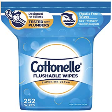 Cottonelle FreshCare Flushable Wipes for Adults