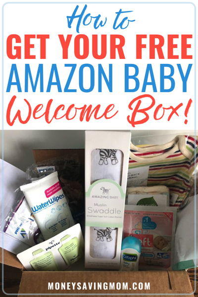 how to get your free Amazon Baby Box
