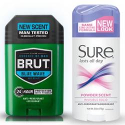 Brut or Sure Deodorant