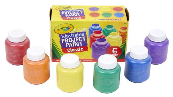 Crayola Washable Kids Paint 6-Count $4.64