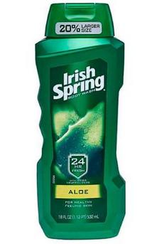 Irish Spring Body Wash 18 oz Bottles
