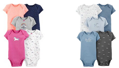 Carter's Baby 5-Pack Bodysuits