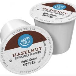 Amazon Brand - 100 Ct. Happy Belly Light Roast Coffee Pods