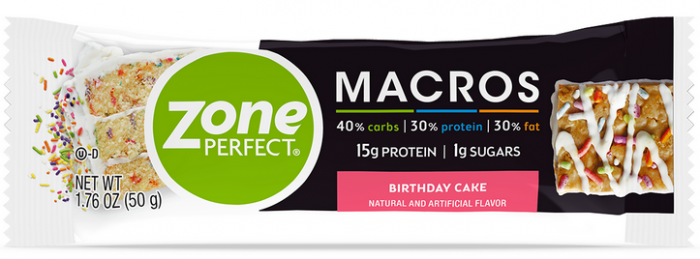 FREE ZonePerfect Macros Protein Snack Bar