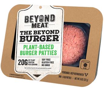 Beyond Burgers Plant Based Patties