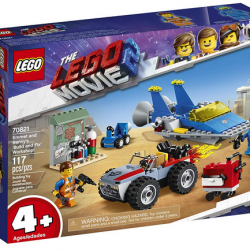 The LEGO Movie 2 Emmet and Benny's 'Build and Fix' Workshop Building Kit