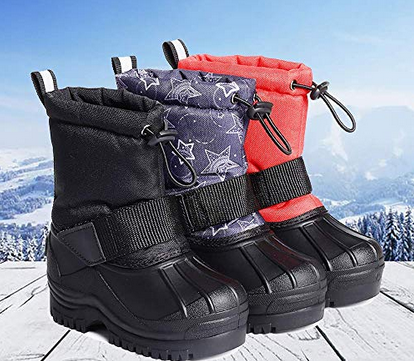 Kid's Insulated Waterproof Snow Boots