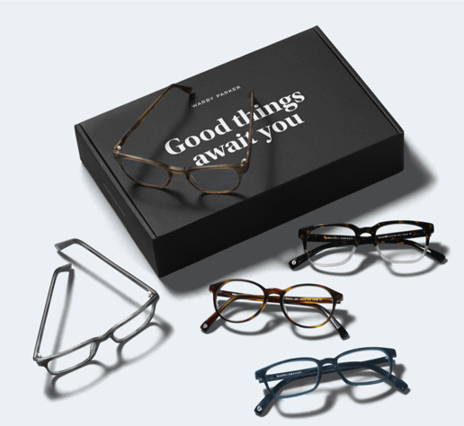 Warby Parker Home Try-On Feature
