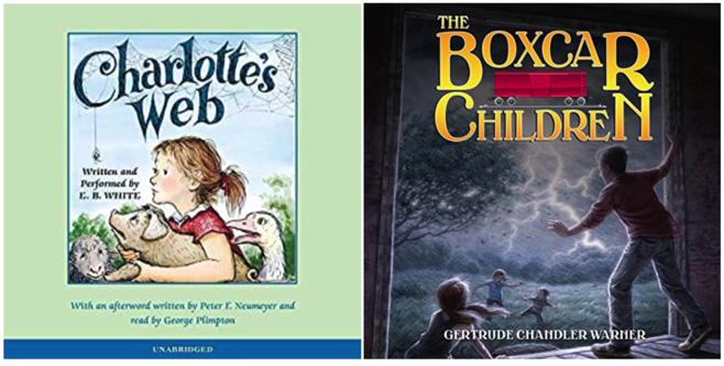 Audiobook Titles for Kids