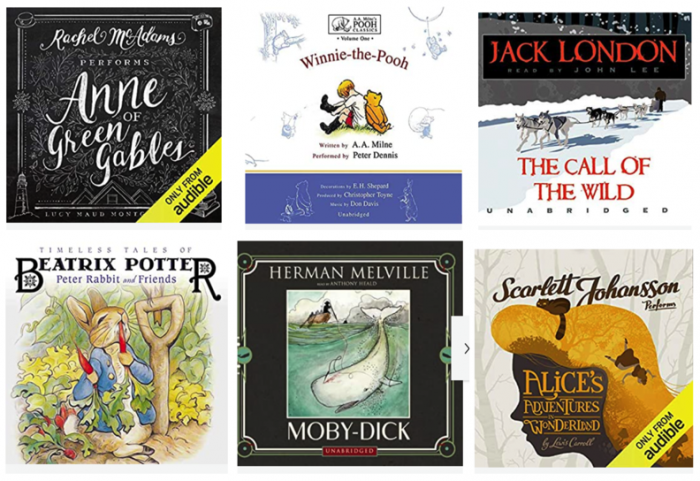 Free Audible Books for Kids