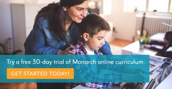 Free Monarch Homeschool Trial