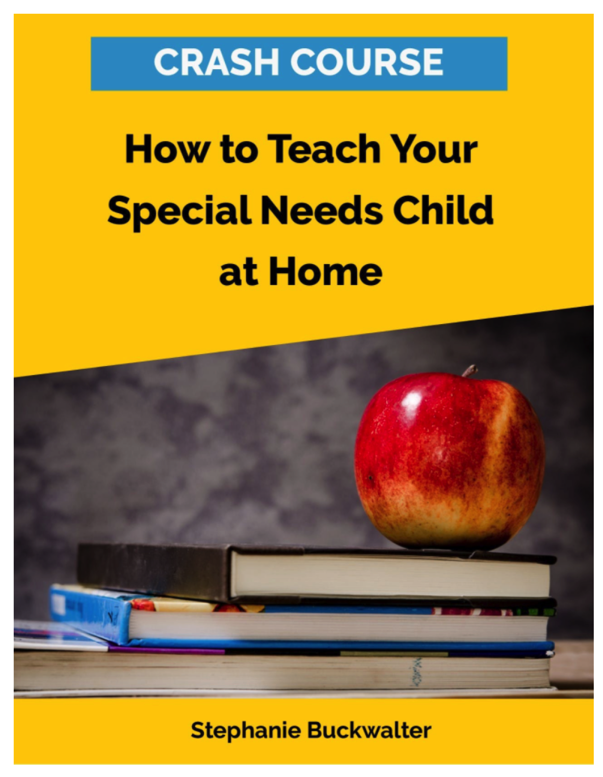 How to Teach Your Special Needs Child at Home