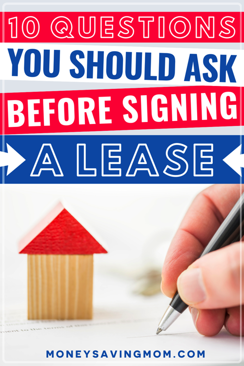 Questions to Ask Before Signing a Lease