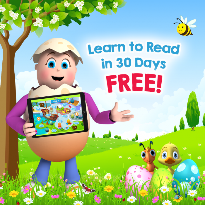 Reading Eggs App Free Trial