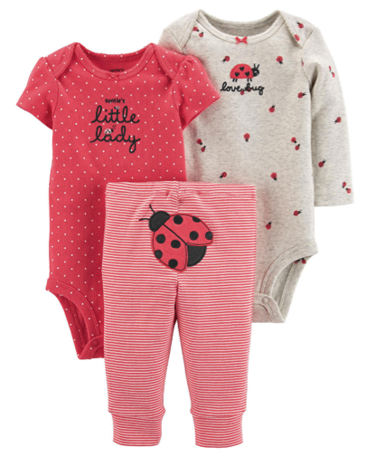 Carter's 3-Piece Clothing Sets as Low as $7.64 on JCPenney