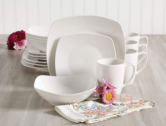 Gibson Home Zen Buffetware 16 Piece Dinnerware Set