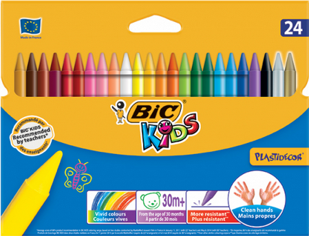 BIC Kids Crayons 24ct