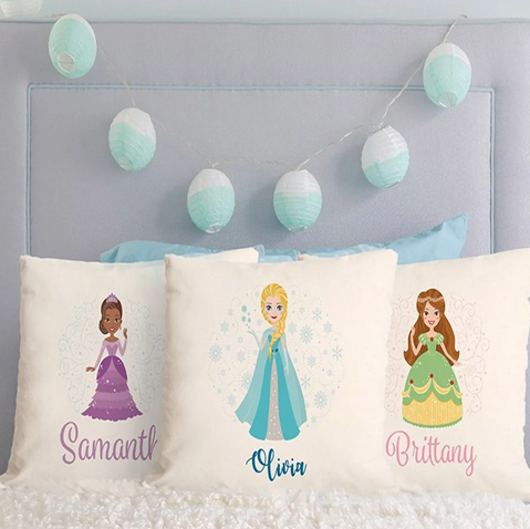 Personalized Princess Pillow Covers Lone $9.99 Shipped!