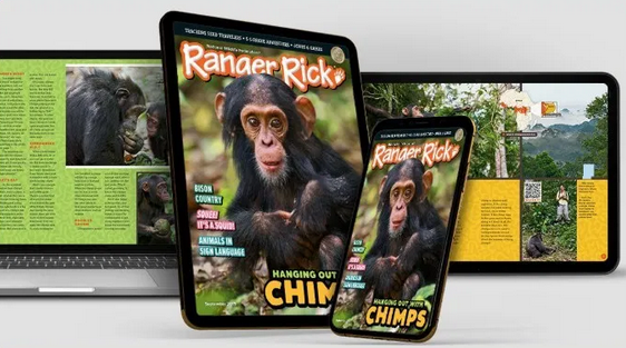 FREE Digital Subscription to Ranger Rick Magazines