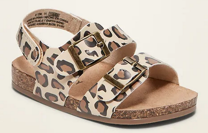 Baby and Toddler Leopard-Print Sandals