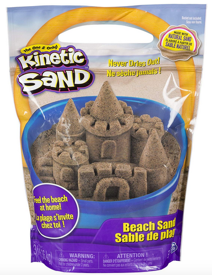 Kinetic Sand 3 Pounds Beach Sand