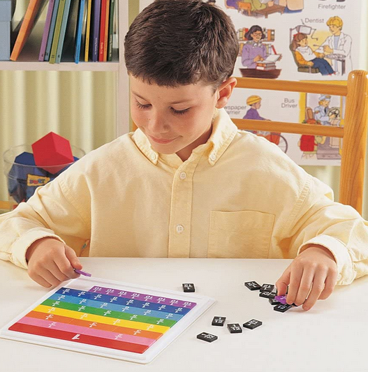 Learning Resources Rainbow Fraction Tiles