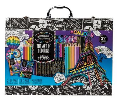 Cra-Z-Art Timeless Creations Premium Art of Coloring Set