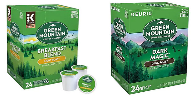 Green Mountain Coffee K-Cups 24-Count Boxes Only $7.58 Shipped