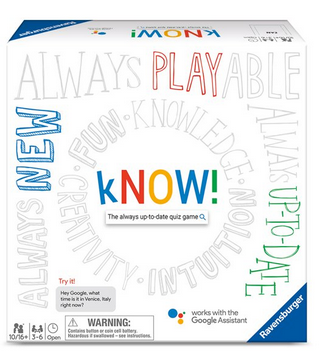 Ravensburger - Google kNOW! Family Board Game
