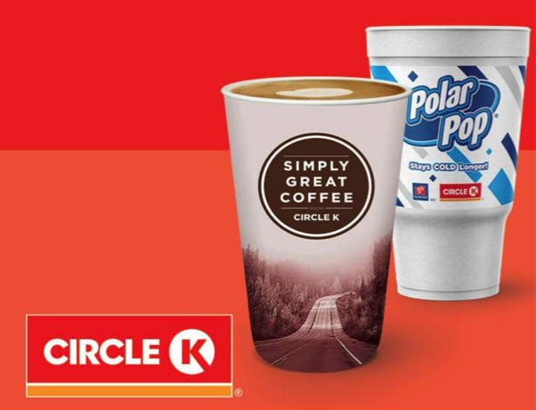 free Circle K drink for healthcare workers
