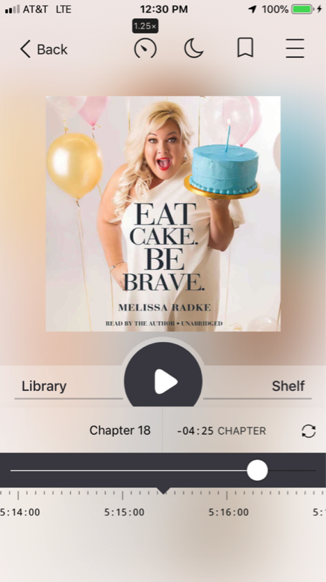 Eat Cake Be Brave Audiobook