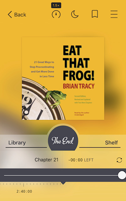 Eat That Frog Audiobook