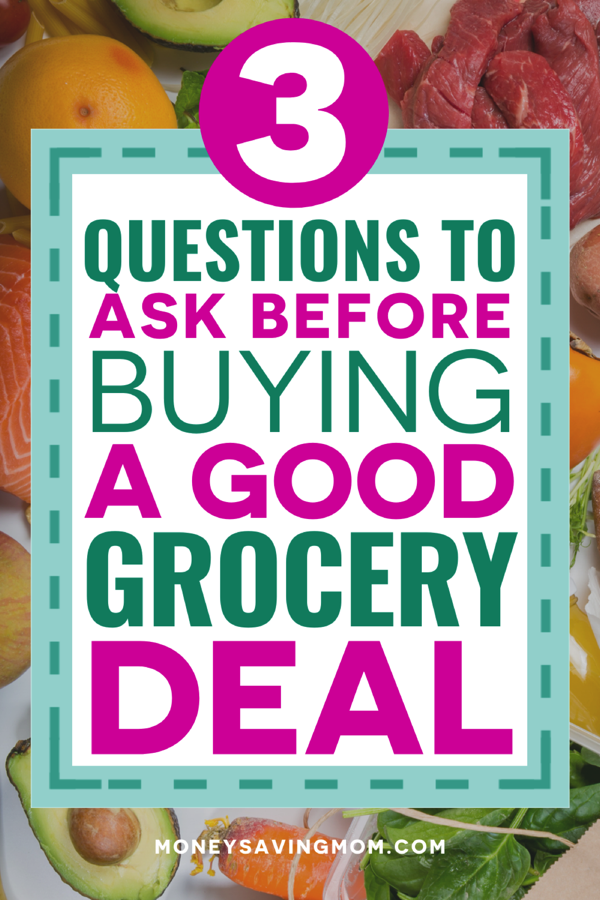 Questions Grocery Deal 1