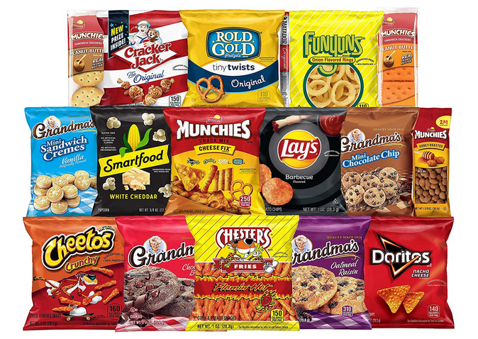 Frito-Lay Ultimate Snack Care Package