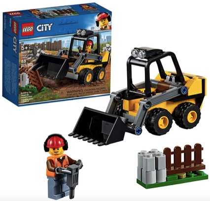LEGO City Great Vehicles Construction Loader 60219 Building Kit