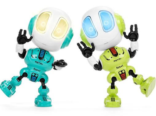 Set of 2 Samesies Mini Talking Toy Robots