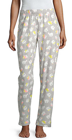 Sleep Chic Womens Microfleece Pajama Pant