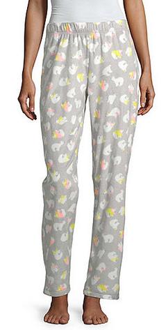 Sleep Chic Womens Microfleece Pajama Pant