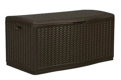 Suncast 124-Gallon Deck Box Only $99 Shipped