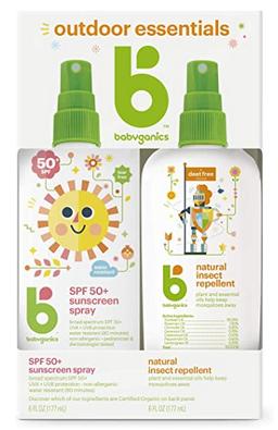 Babyganics Baby Sunscreen Spray 50 SPF and Bug Spray