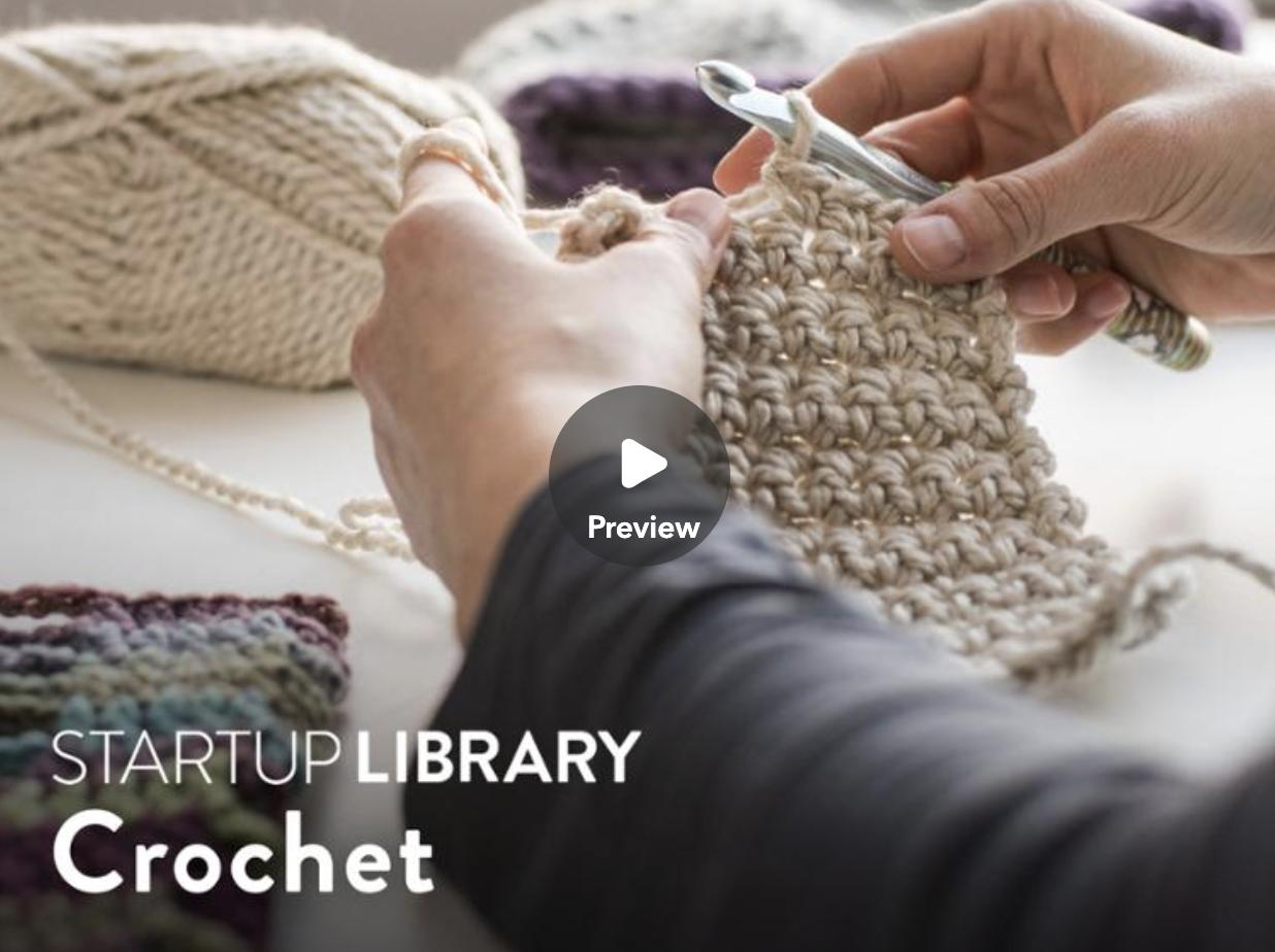 crocheting class