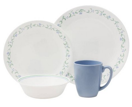 Corelle Classic Country Cottage 16-Piece Dinnerware Set