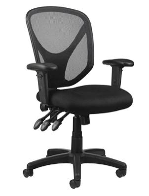 Realspace® MFTC 200 Mesh Multifunction Ergonomic Mid-Back Task Chair